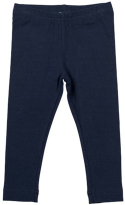 Florence Eiseman Stretch-Knit Leggings, Navy, 2T-4T