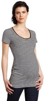 Ripe Maternity Women's Maternity Striped Tube Shirt