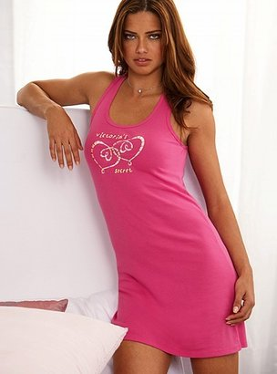 Victoria's Secret Signature Cotton Racerback chemise