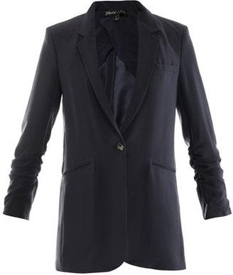 Elizabeth and James Heather crepe jacket