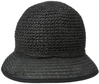 San Diego Hat Company San Diego Hat Women's Crochet Paper Bucket