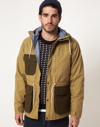 Gant Jacket with Contrast Pockets