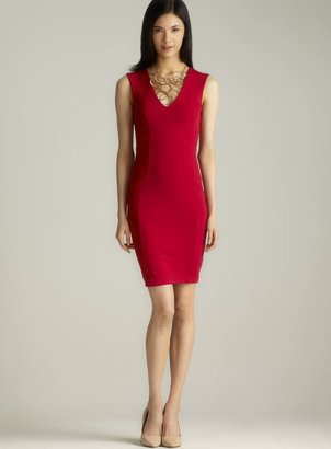 French Connection Classic Annie V-Neck Jersey Dress