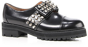 Chaussure Lapin The Leather and Bow Studded Boot