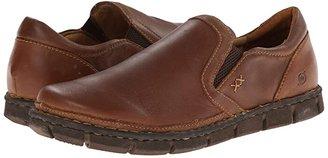 Børn Sawyer (Tan Full Grain Leather) Men's Slip on Shoes
