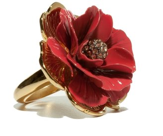 The Limited Enamel Flower Ring