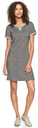 Gap Textural sweatshirt dress