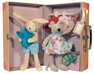 Moulin Roty Little Wardrobe Armoire- Clothing & Dolls