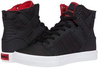Supra Skytop (White/White/Red/White) Men's Skate Shoes