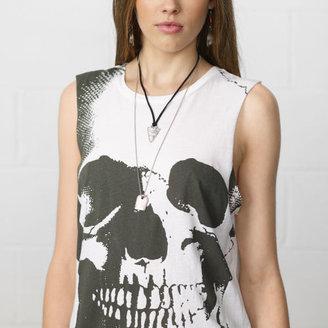 Denim & Supply Ralph Lauren Skull-Print Sleeveless Tee