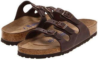 Birkenstock Florida Soft Footbed - Leather (Habana Oiled Leather) Women's Sandals