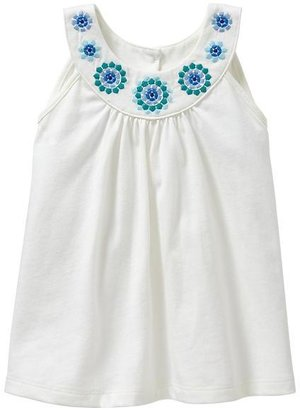 Gap Embroidered banded tank