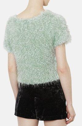 Topshop Sparkling Textured Top