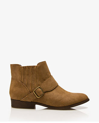 Forever 21 Classic Faux Suede Chelsea Boots