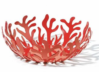"Alessi Mediterraneo"" Medium Fruit Basket in Red"