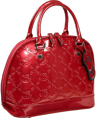 Loungefly Hello Kitty Tango Red Embossed Bag