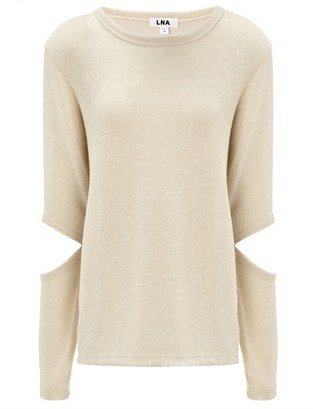 LnA Ecru Cut Out Durango Jumper