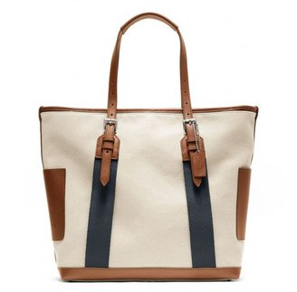 Coach Bleecker City Tote In Canvas