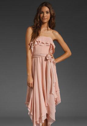 Halston Handkerchief Dress