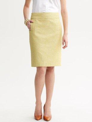 Banana Republic Pastel tweed pencil skirt