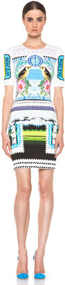Mary Katrantzou Jersey Short Sleeve Dress in Rodizio