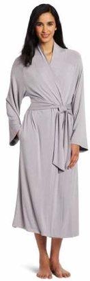 Casual Moments Women's 48-Inch Shawl Collar Wrap Robe
