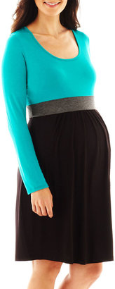 JCPenney Maternity Tri-Color Dress