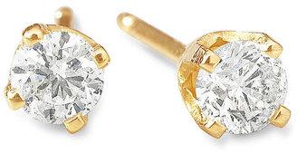 JCPenney FINE JEWELRY 1 CT. T.W. Diamond Stud Earrings 14K Gold