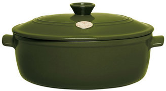 Emile Henry Flame Top Oval Dutch Oven/Stew Pot, 6.3 quart