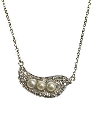 Bao Wan Diamond, pearl and gold necklace