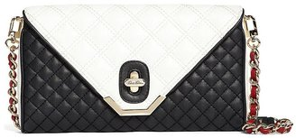 Brooks Brothers Quilted Calfskin Clutch