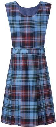 Unbranded Howell's School Girls' Tartan Tunic Dress, Blue/Multi