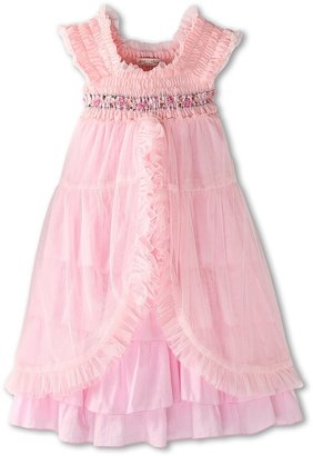 Luna Luna Copenhagen Clara Dress (Little Kids/Big Kids) (Petal) - Apparel