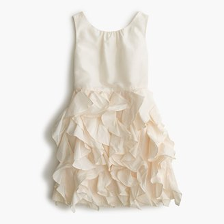 J.Crew Girls' Lyla dress in silk taffeta