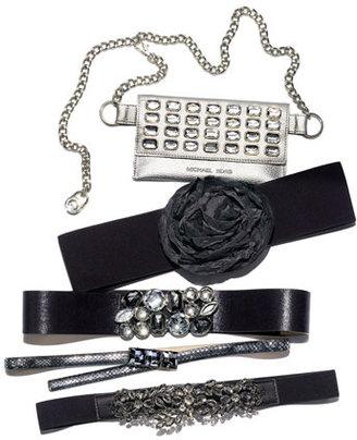 Cara Floral Crystal Stretch Belt