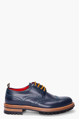 DSquared DSQUARED2 Blue Bowles Brogues