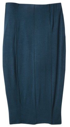 Mossimo Women's Refined Pencil Skirt - Assorted Colors