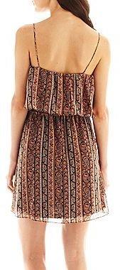 MNG by Mango Paisley Print Draped Dress