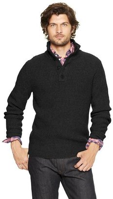 Gap Lambswool mockneck sweater