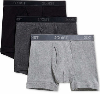 2xist Men Underwear, Essentials Boxer Brief 3 Pack
