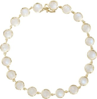 Irene Neuwirth JEWELRY Rose Cut Rainbow Moonstone Bracelet