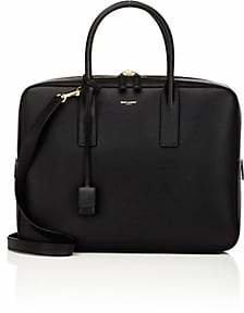 Saint Laurent Men's Classic Museum Small Briefcase - Black