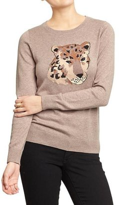 Old Navy Women's Animal-Graphic Sweaters