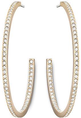 Swarovski Vi Hoop Pierced Earrings