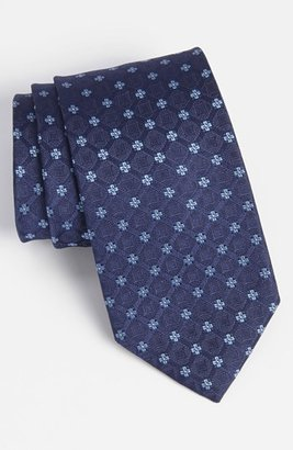 HUGO BOSS Men's Woven Silk Tie