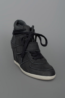 Ash Bowie Ter Leather Sneakers Black