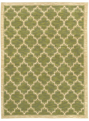 """Shaw Living Area Rug, American Abstracts 01300 Milazzo Green 1'8"""" x 2'8"""""""