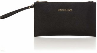 Michael Kors Jet set travel large pouch clutch bag