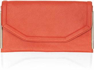 Topshop Side bar clutch bag