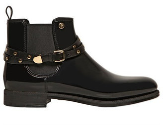 Menghi 20mm Belted Rubber Ankle Boots